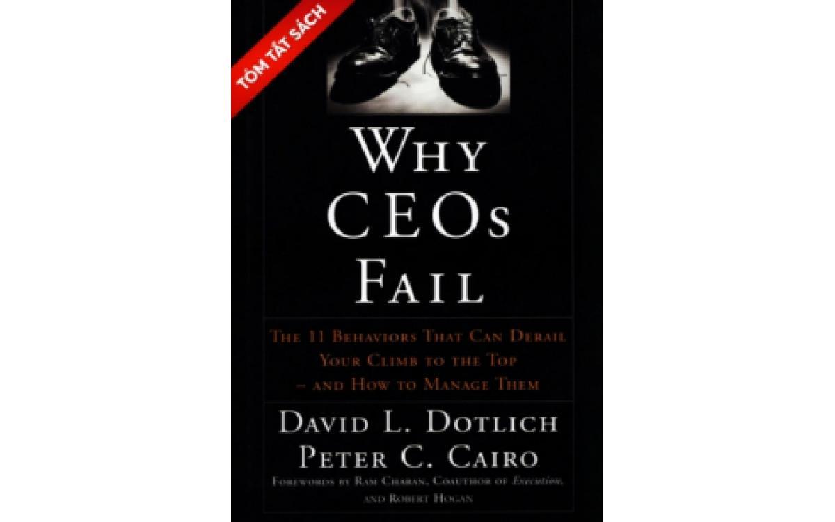 Tại sao các CEO thất bại [Tóm tắt]