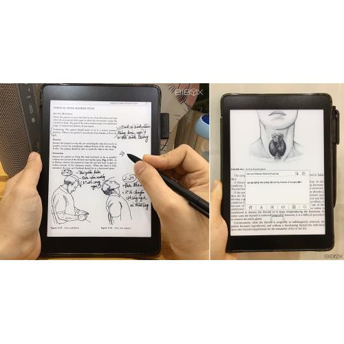 Máy đọc sách cho bác sĩ Likebook Ares + Tặng Đồng hồ kèm loa cao cấp Massko