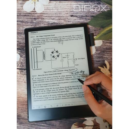 Combo: Máy đọc sách Likebook Alita Note + Bao da + Mặt nạ mắt Eyecare
