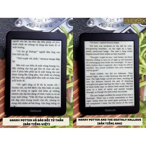 Máy đọc sách cho học sinh Likebook Mars + Tặng Đồng hồ kèm loa cao cấp Massko