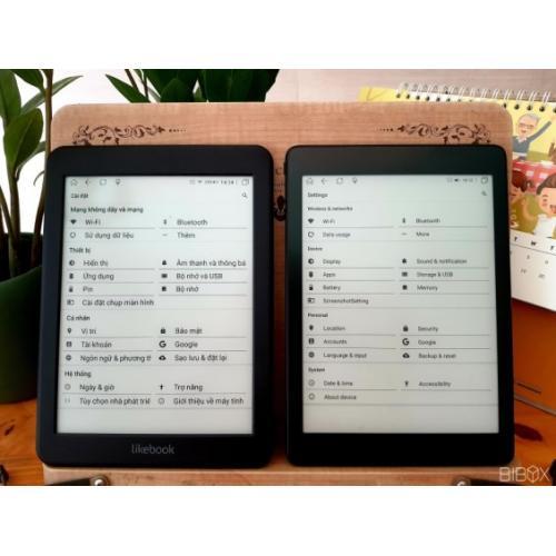 Máy đọc sách cho người lớn tuổi Likebook Mars