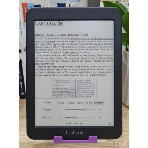 Máy đọc sách cho dân kỹ thuật Likebook Mars