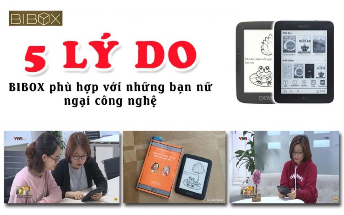 5 Lý do Bibox là lựa chọn máy đọc sách cho các bạn Nữ ngại công nghệ