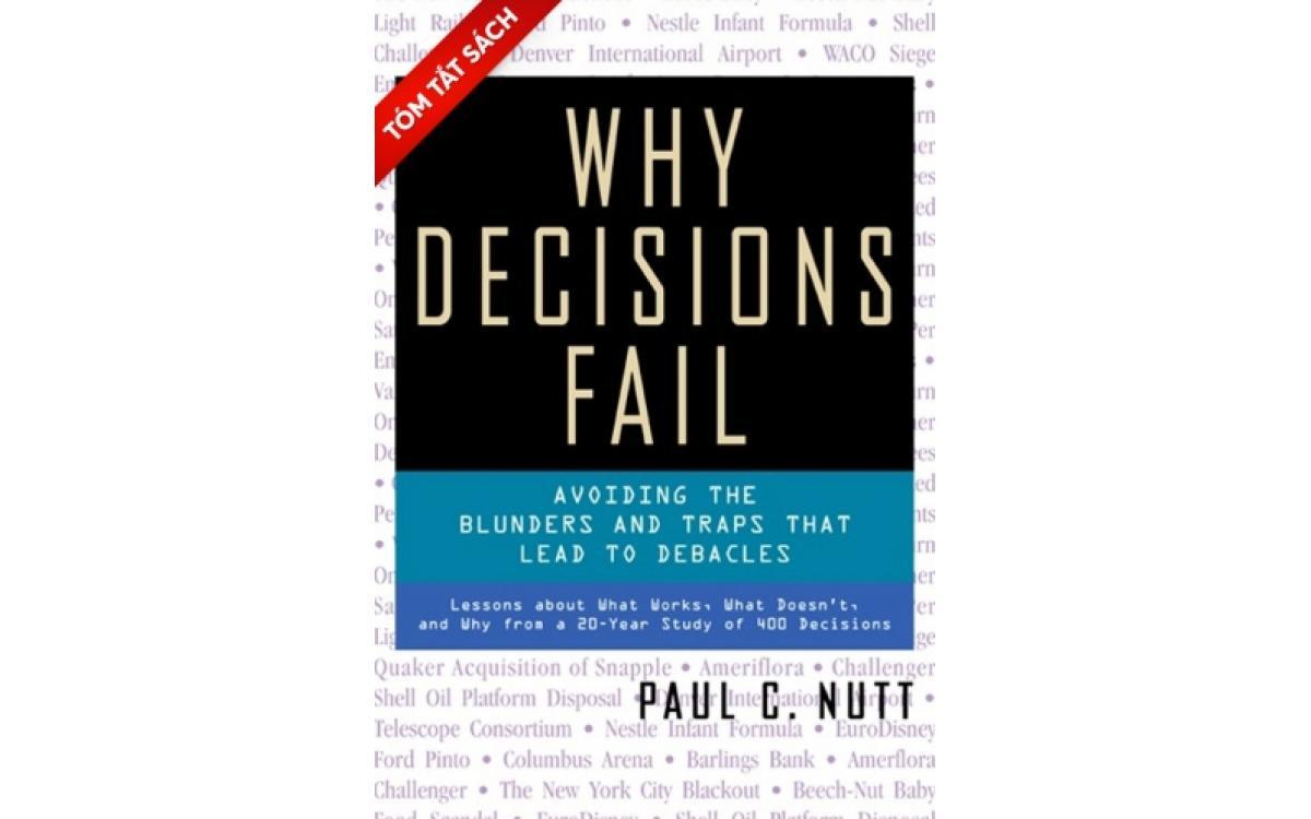 Tại sao các quyết định thất bại [Tóm tắt]