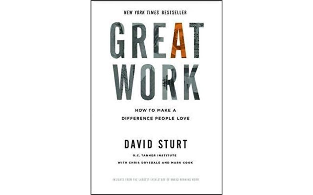Great Work - David Sturt [Tóm tắt]